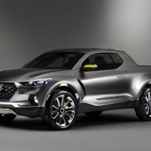 Hyundai объявляет о начале производства нового CUV Santa Cruz!