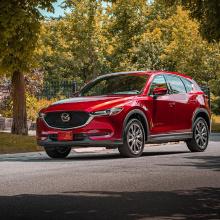 2020 Mazda CX-30 награждается Euro NCAP!