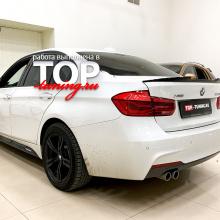 Установка лип-спойлера M-Sport на BMW 3 F30