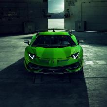 Lamborghini Aventador SVJ от тюнинг-ателье Novitec