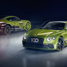 Bentley выпускает новый Continental GT Limited Edition!