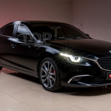 Установка диффузора Apex Speed на Mazda 6 GJ