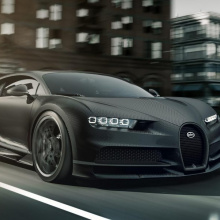 Bugatti Chiron Noire теперь Monochrome Limited Edition от Bugatti