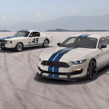 Shelby показал предстоящие модели Heritage Limited Edition