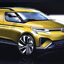 Volkswagen выпустил эскизы 2020 Caddy