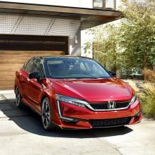 2020 Honda Clarity Fuel Cell - краткий обзор