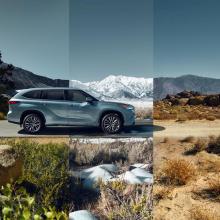 Toyota покажет новый 2020 Highlander