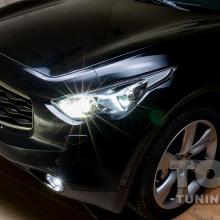 Правильный свет для Infiniti FX50S