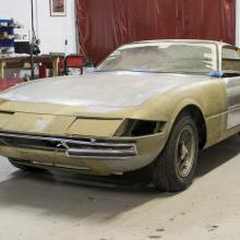 Восстановление этого классического Ferrari Daytona станет нашим проектом мечты