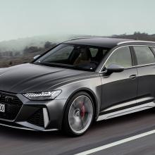 Посмотрите, как новый Audi RS6 Avant разгоняется до 298 км/ч
