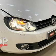 Тюнинг оптики VW Golf 6