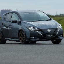 Nissan представляет новую технологию 4OWER на 2020 CES