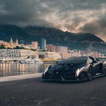 Еще один родстер Lamborghini Veneno выставлен на аукцион