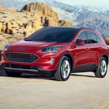 Ford запускает маркетинговую рекламу новой линейки 2020 Escape