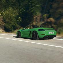 Четырехцилиндровый двигатель для Porsche 718 Boxster и Cayman GTS