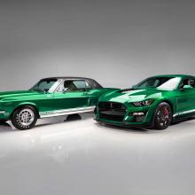 Две восстановленных легенды Shelby дебютируют вместе с 2020 GT500