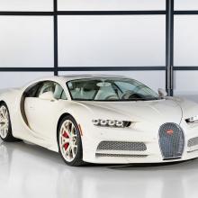 Bugatti выпускает уникальное издание Chiron Herm?s для американского коллекционера