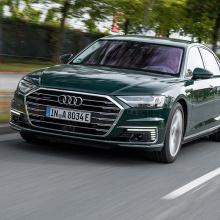 Audi раскрывает подробности о новой линейке 2020 A8 TFSIe