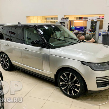 Установка облицовок SV Autobiography на Range Rover Vogue 2020