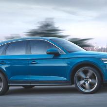 Audi представляет свою первую гибридную модель Q5