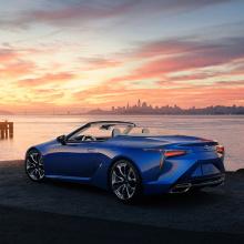 Lexus продемонстрирует новый 2021 LC 500 Cabriolet на выставке в Лос-Анджелесе