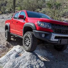 Chevrolet Colorado Bison назван внедорожником года!