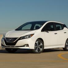 Nissan Leaf признан победителем в номинации ''Наименьшая стоимость владения за 5-летний период''