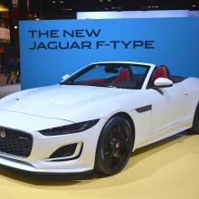 2020 Jaguar F-Type Convertible на Чикагском автосалоне