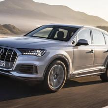 Audi расширяет модельный ряд c 2020 Q7