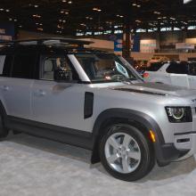 Land Rover Defender 110 Live на Чикагском автосалоне 2020