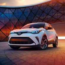 Toyota C-HR получает апгрейд