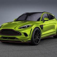 Lumma Design представляет комплект расширения для Aston Martin DBX