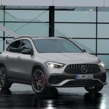 Mercedes показал новый Mercedes-AMG GLA 45
