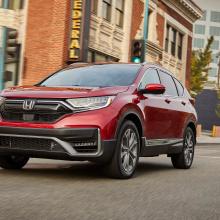 Honda представляет новую линейку гибридных автомобилей 2020 CR-V