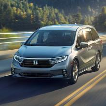 Honda раскрывает первые детали новой линейки 2021 Odyssey