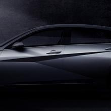 Hyundai раскрывает первые изображения новой модели 2020 Elantra