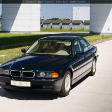 Этот 1998 BMW 7 серии находился в воздушной капсуле более 20 лет