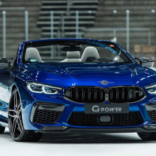Модифицированный кабриолет BMW M8 обладает большей мощностью, чем Lamborghini Aventador