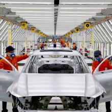 Автомобильная промышленность Китая начинает восстанавливаться после коронавируса
