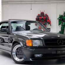 Этот Mercedes 560 SEC AMG 6.0 Widebody стоит больше, чем новый AMG GT-R