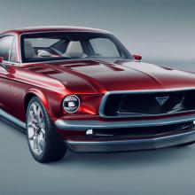 Полностью электрический Ford Mustang - это карбоновый шедевр