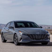 Hyundai выпускает первые изображения нового 2021 Elantra Hybrid!