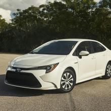 2020 Toyota Corolla Hybrid получает престижную награду