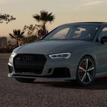 Audi представляет новую линейку RS 3 Nardo Special Edition!