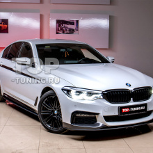 Наклейки на пороги M-Performance BMW 5 G30
