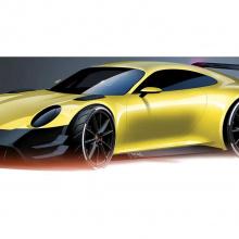 Что, если Porsche разработал бы Dodge Charger Daytona?