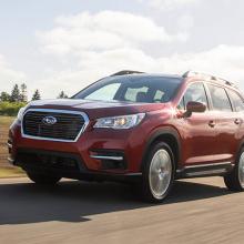 Четыре модели Subaru получают награду «Лучший семейный автомобиль»