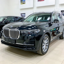 Установка комплекта Glass Crafted Clarity на BMW X7