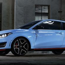 Hyundai представляет новый Veloster N