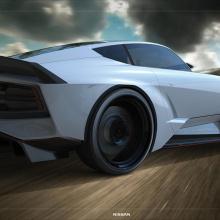 Мы надеемся, что новый автомобиль Nissan Z будет выглядеть так